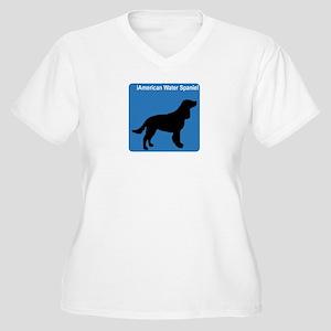 American Water Spaniel (clean Women's Plus Size V-