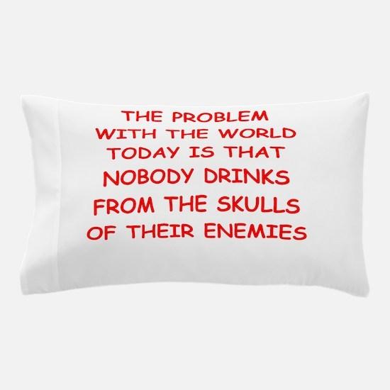 skulls of enemies Pillow Case