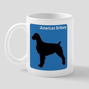 American Brittany (clean blue Mug
