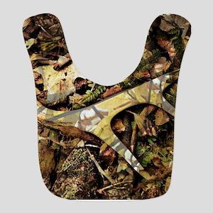 camouflage deer antler Bib