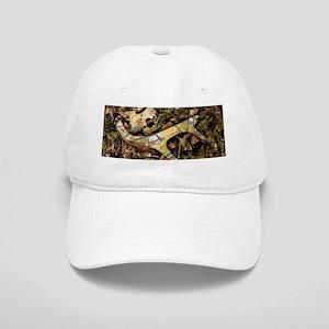 camouflage deer antler Cap