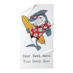 Custom Shark Beach Towel