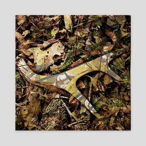camouflage deer antler Queen Duvet