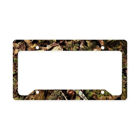 Camouflage Deer Antler License Plate Holder By Admin