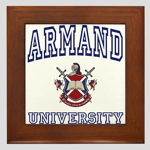 ARMAND University Framed Tile