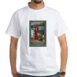 1945 Christmas From Home White T-Shirt