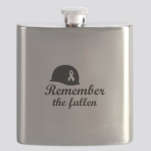 REMEMBER THE FALLEN Flask