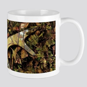 Rustic camouflage Mugs
