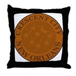 Crescent City Lid Throw Pillow
