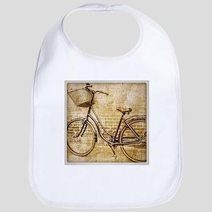 vintage Bicycle retro art Bib