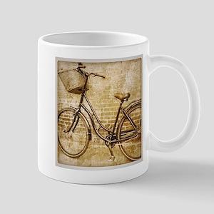vintage Bicycle retro art Mugs