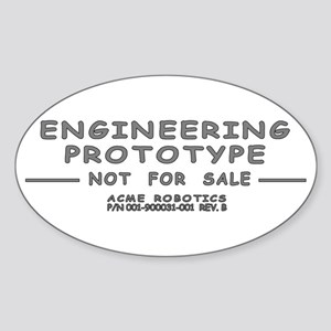 Prototype Rev. B Oval Sticker