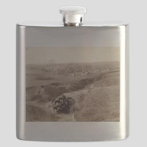 Villa of Brule - John Grabill - 1891 Flask
