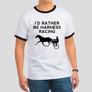 Id Rather Be Harness Racing T-Shirt