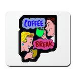 Retro Coffee Break Mousepad
