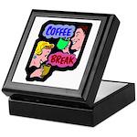 Retro Coffee Break Keepsake Box