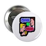Retro Coffee Break Button