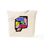Retro Coffee Break Tote Bag