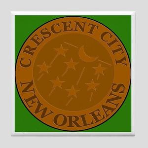 Crescent City Lid Tile Coaster