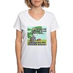 Bet Your Ass Women's V-Neck T-Shirt
