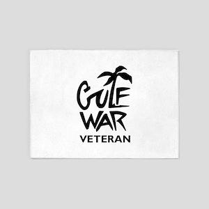 GULF WAR VETERAN 5'x7'Area Rug