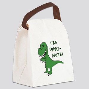 IM DINOMITE Canvas Lunch Bag