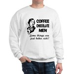 Coffee, Chocolate, Men Sweatshirt
