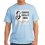 Coffee, Chocolate, Men Light T-Shirt