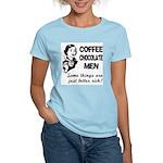 Coffee, Chocolate, Men Women's Light T-Shirt