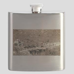 The Deadwood Coach - John Grabill - 1889 Flask
