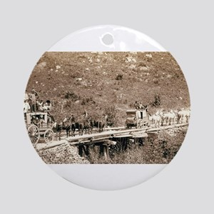 The Deadwood Coach - John Grabill - 1889 Round Orn