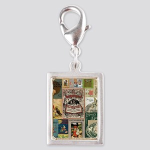 Vintage Book Cover Illustrations Charms