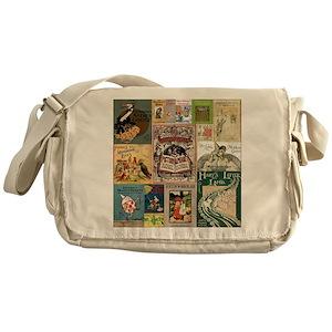 42e8f102d06 Books Messenger Bags - CafePress