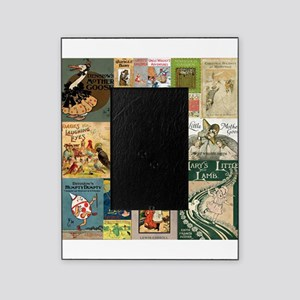 Vintage Book Cover Illustrations Picture Frame