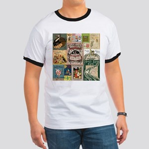 Vintage Book Cover Illustrations T-Shirt