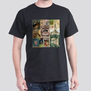 Vintage Book Cover Illustrations T-Shirt