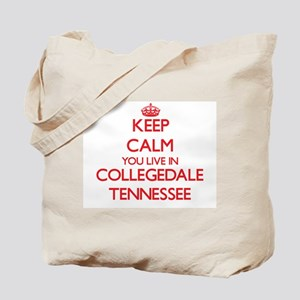 Keep calm you live in Collegedale Tenness Tote Bag