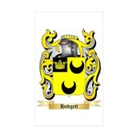 Hodgett Sticker (Rectangle 10 pk)
