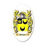 Hodgett 35x21 Oval Wall Decal