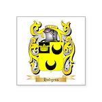 Hodgess Square Sticker 3
