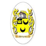 Hodgess Sticker (Oval 50 pk)