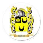 Hodges Round Car Magnet