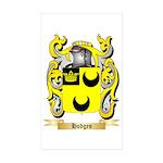 Hodges Sticker (Rectangle 50 pk)