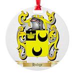 Hodge Round Ornament