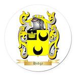 Hodge Round Car Magnet