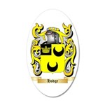 Hodge 35x21 Oval Wall Decal