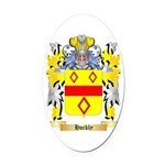 Hockly Oval Car Magnet