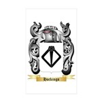 Hockings Sticker (Rectangle 50 pk)