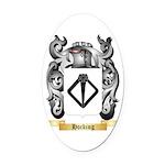Hocking Oval Car Magnet