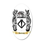 Hocking 35x21 Oval Wall Decal